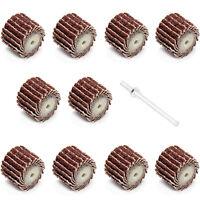 10 Stück Schleiffächer Fächerschleifer K600 für Dremel Proxxon Schleifer Zubehör