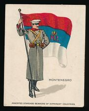 1915 T105 Zira Cigarettes -STANDARD BEARERS -Montenegro *Tier 2-Tough*