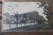 2620 AK Ober-Kassel Barbarossa-Platz mit Straßenbahn 1909