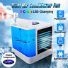 5 Speed Air Conditioner Portable Mini Air Cooler LED Humidifier USB Fan