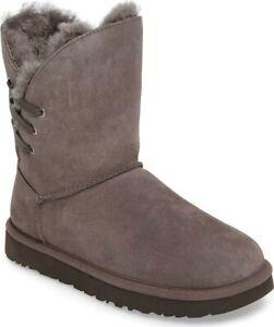 Ugg Constantine Boot Women's 8 Charcoal Suede #