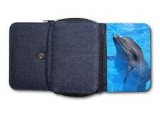 Damen Tasche Geldbörse Portemonnaie Delphin Delfin