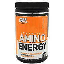 Optimum Nutrition Essential Amino Energy Peach Lemonade 30 Servings - 9.5oz
