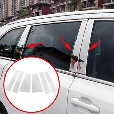 Accessories For Toyota Highlander 2014-2019 Steel Window Pillar Cover Trim Frame
