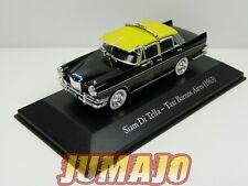 SER5G 1/43 SALVAT Vehiculos Servicios :  Siam Di Tella (riley) taxi Buenos Aires