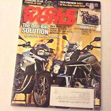 Cycle World Magazine BMW F700GS Honda NC700X DCT January 2013 061617nonrh