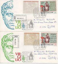 Vaticano 1981 FDC Venetia Club Bimillenario Virgiliano Racc.