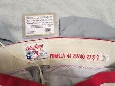 LOU PINIELLA GAME USED  PANTS 1991, WITH CERT CARD 100% AUTHENTIC