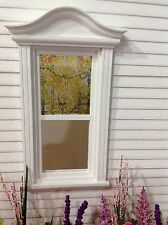 Yellow Blooming Vines Dollhouse Miniature Victorian Stained Glass Window  Film