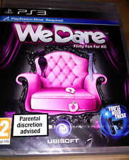"JEU PS3 ""We Dare"" (Move) UBISOFT NEUF SOUS BLISTER"