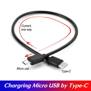 Type-C (USB-C) to Micro  USB Charging  Data Sync OTG Cable Cord Lead Adapter