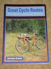 Great Cycle Routes - North & South Downs - Paperback 1995 - Jeremy Evans