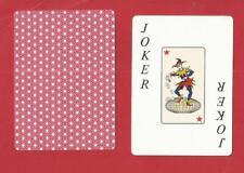 1 joker  playing cards
