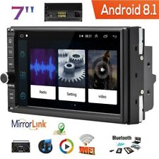 """7"""" 2Din Car Stereo Android 8.1 Navegación GPS WiFi MP5 Player Radio FM Quad Core"""