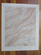 Salem Virginia 1945 Original Vintage USGS Topo Map