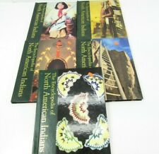 Lot of 5 The Encyclopedia of North American Indians Book 6 8 9 10 11