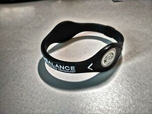 Power Balance Silikon Energie Band, Fitness Armband, Hologramm, Ionenband, Gr. L