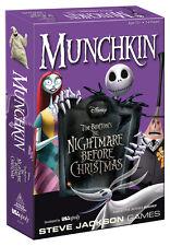 MUNCHKIN® Tim Burton's The Nightmare Before Christmas New 2015 Age 10+