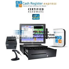 pcAmerica CRE POS Cash Register Express for Dollar Stores Discount Thrift Stores