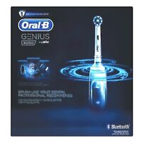 Oral-B Genius 8000 Electric Rechargeable Toothbrush with Bluetooth (white) NEW