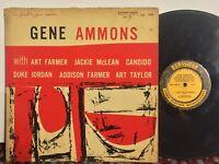 Gene Ammons Hi Fidelity Jam Session PRESTIGE NYC MONO DG RVG Jackie McLean