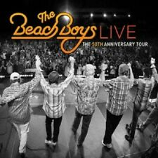 THE BEACH BOYS - LIVE: THE 50TH ANNIVERSARY TOUR 2 CD POP INTERNATIONAL NEU