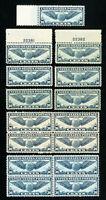 US Stamps # C24 F-VF Lot of 15 OG NH Scott Value $165.00