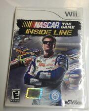 NASCAR The Game: Inside Line (Nintendo Wii, 2012) New Factory Sealed Dale JR