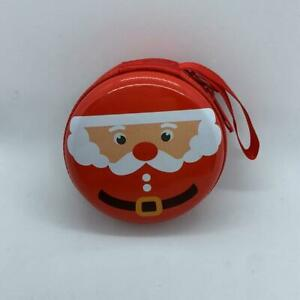Gift Idea Santa Claus Purse Happy Holidays 7CM Pocket Coins Ideas Gifts #6