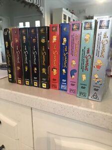 the simpsons dvd set