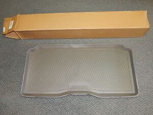 New OEM 2002-2009 Isuzu Ascender Rear Cargo Tray Floor Mat Gray Chevy GMC 3 Row