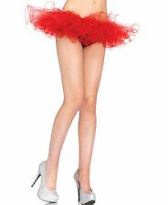 New Leg Avenue 2668 Red Tulle Tutu Skirt