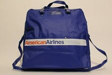 Rare vintage American Airlines carry-on bag from the 1970s/80s.