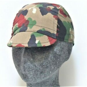 CYCLE CYCLING SPORT GREEN CAMO CAMOFLAGE COTTON BICYCLE CAP HAT UK MADE gift