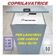 MOBILE BOX COPRILAVATRICE LAMIERA ZINCATA PROTEZIONE LAVATRICE CARICA DALL'ALTO