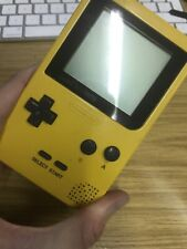 GAMEBOY POCKET**YELLOW CONSOLE UNIT**WITH BATTERY COVER