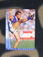 OFFICIAL AFL TRADECARD HAND SIGNED BY NTH MELB KANGAROOS CHAMPION, DEAN LAIDLEY