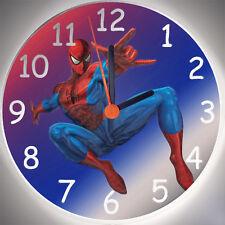 Wanduhr Spiderman - Kinderuhr - Uhr fürs Kinderzimmer - Holz - Handarbeit
