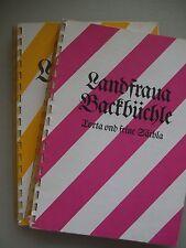 2 Bücher Landfraua Backbüchle Torta und seine Sächla + .. Rezeptla