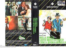 Bella Ricca Lieve difetto fisico cerca anima Gemella (1973) VHS Domovideo  1a E.