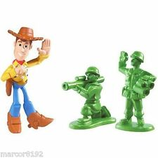 Disney Toy Story 3 Buddy Pack - Waving Woody And Green Army Men Action Links new