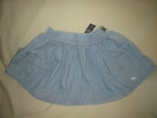 NWT ABERCROMBIE & FITCH LARGE LIGHT BLUE MINI SKIRT