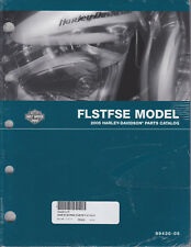 2005 Harley FLSTFSE CVO Fat Boy Part Parts Manual Catalog Book 99430-05