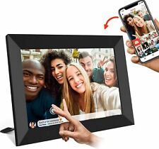 FRAMEO Digital Picture Frame WiFi 10 inch with IPS HD Touch Screen Auto-Rotate 1