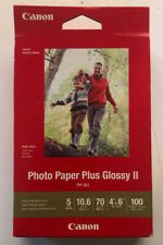 Canon Photo Paper Plus Glossy II 4x6 10.6 100 Sheets PP-301 New (c)