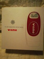 Veme IPL Hair removal device 500,000 flashes