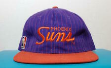 New Phoenix SunsVintage 90s Snapback Rare Sports Specialties Script Pinstripe
