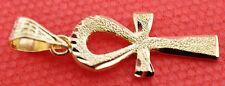 Egypt HallMark 18 Karat Gold pendant, Pharao's Key of Life Ankh 2.6 Grams
