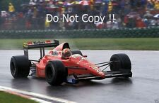 Alex CAFFI DALLARA F189 CANADIAN GRAND PRIX 1989 Fotografia