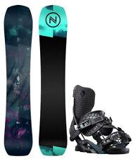 2022 Nidecker Venus 151 cm Women's Snowboard+Flow Omni Bindings NEW